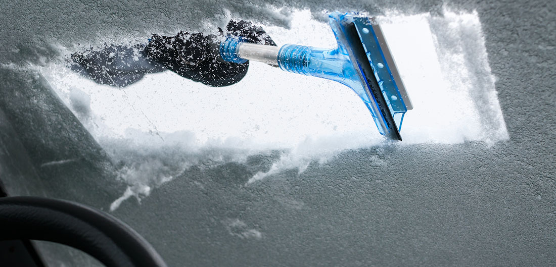 Snow & Ice on Your Car - Sparks Insurance Kenosha WI