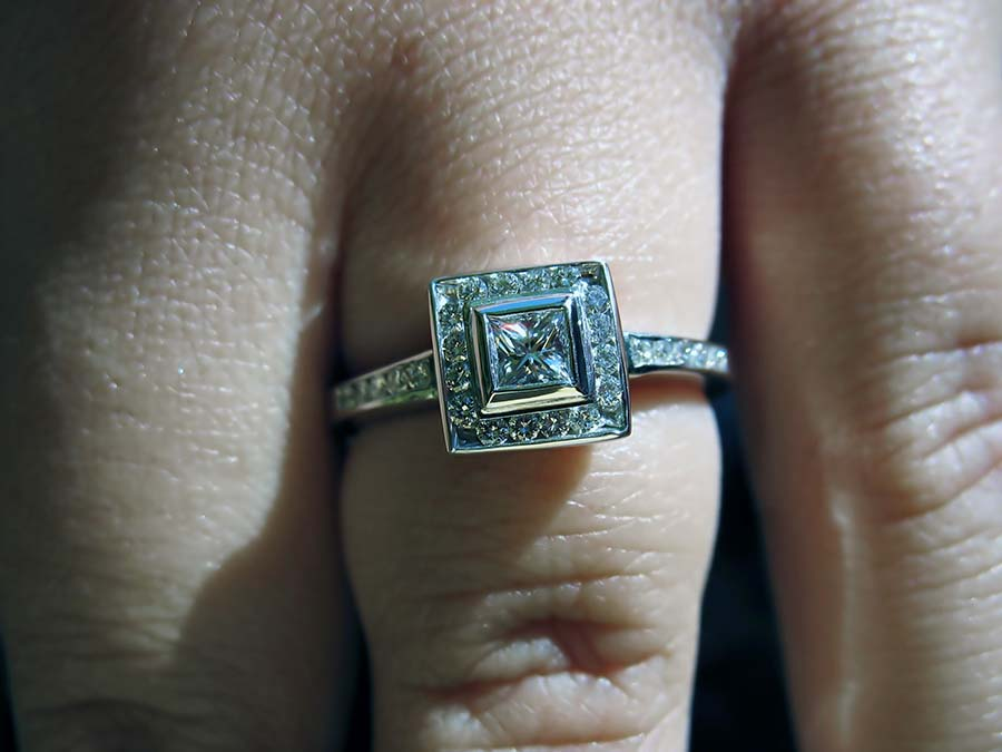 Engagement Ring - Jewelry Insurance